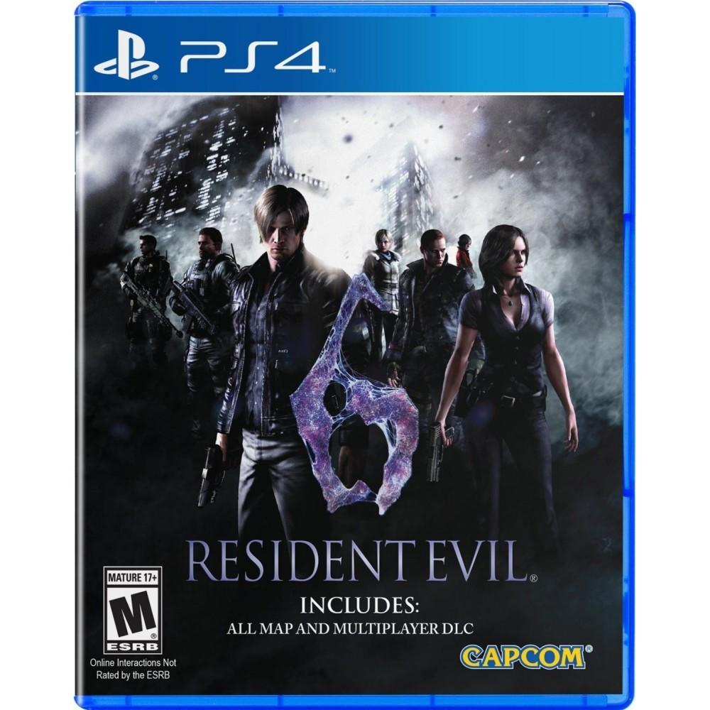 RESIDENT EVIL 6 HD PS4 US OCC