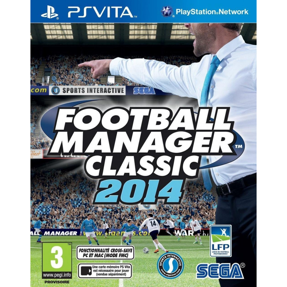 FOOTBALL MANAGER 2014 PSVITA VF