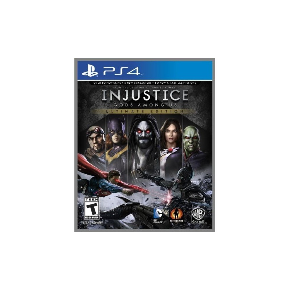 INJUSTICE GODS AMONG US ULTIMATE EDITION PS4 US OCCASION