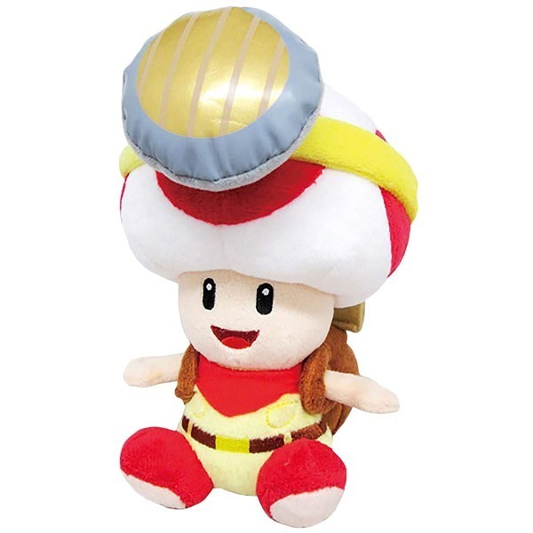 PELUCHE CAPTAIN TOAD EURO NEW