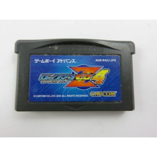 ROCKMAN ZERO 4 GBA JPN LOOSE