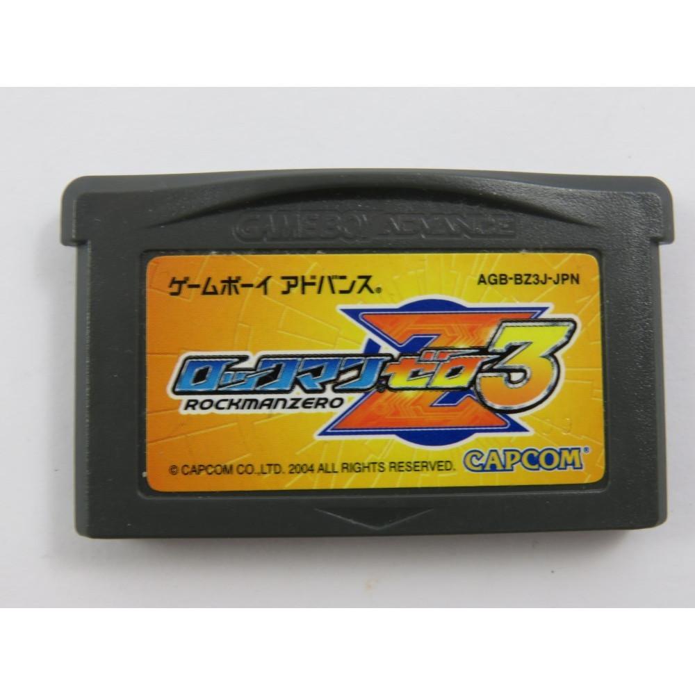 ROCKMAN ZERO 3 GBA JPN LOOSE