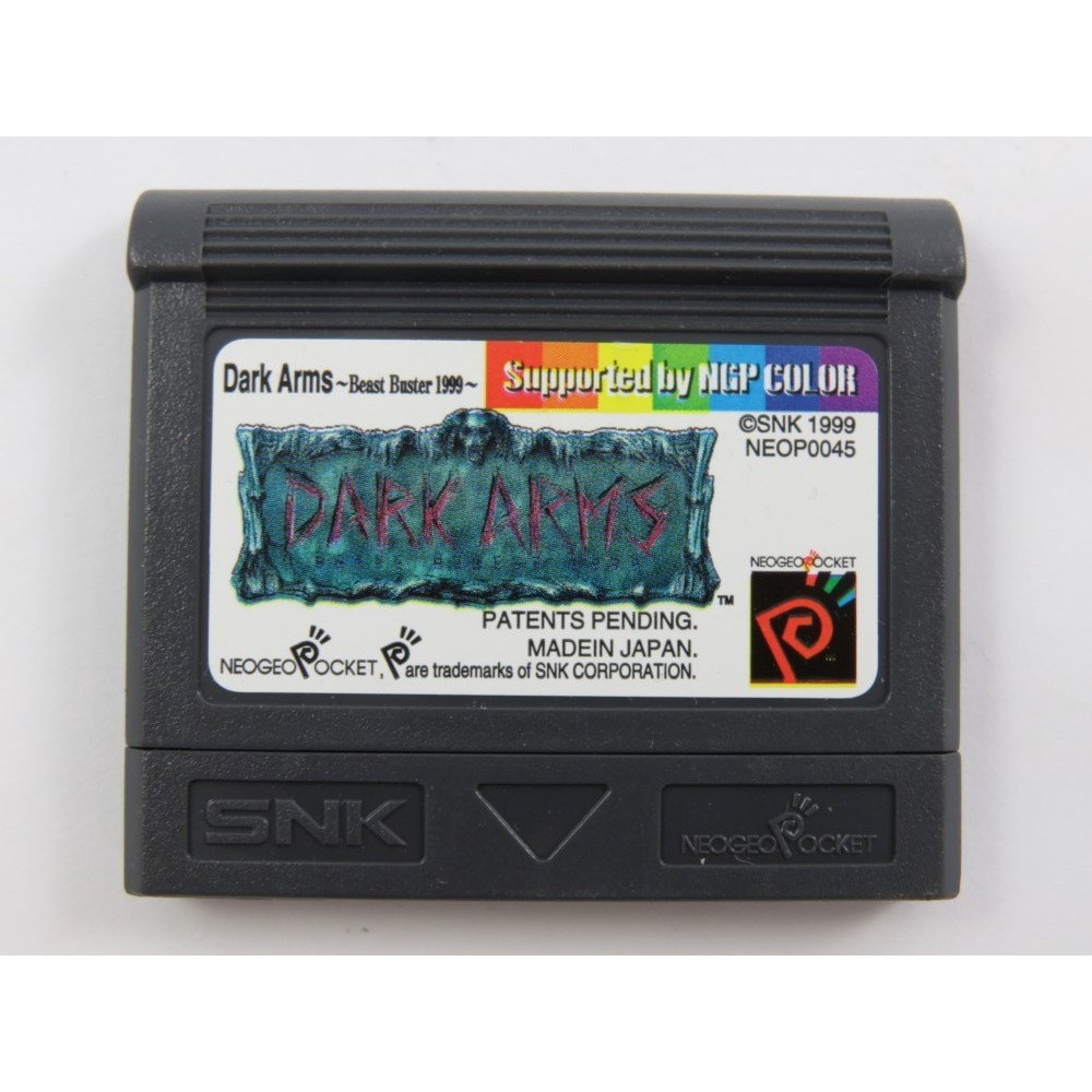 DARK ARMS NEOGEO POCKET COLOR EURO OCCASION
