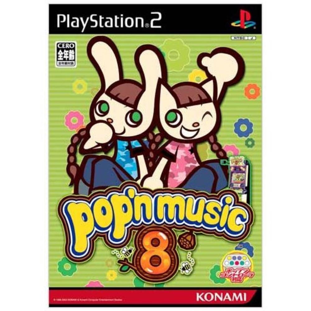 POP N MUSIC 8 (BUNDLE COPY) PS2 NTSC-JPN OCCASION