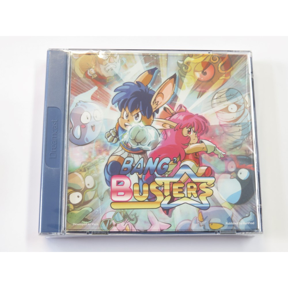 BANG 2 BUSTERS DREAMCAST PAL-EURO NEW