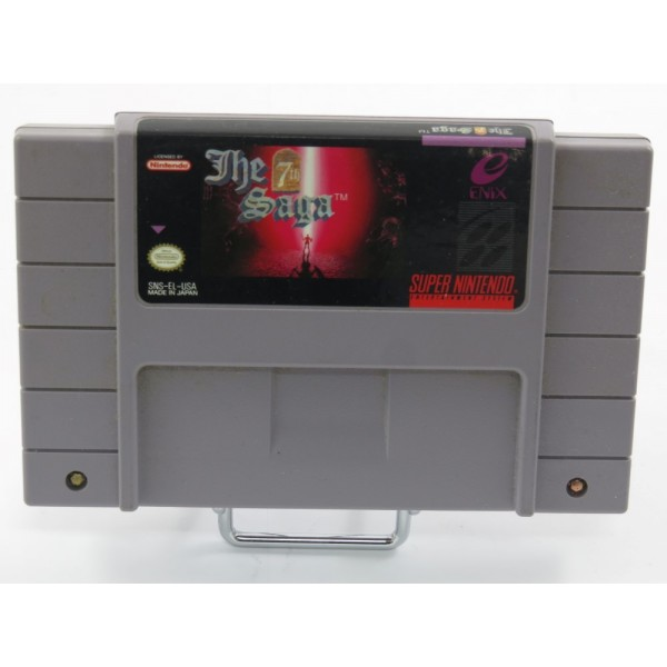 THE 7TH SAGA SNES NTSC-USA LOOSE