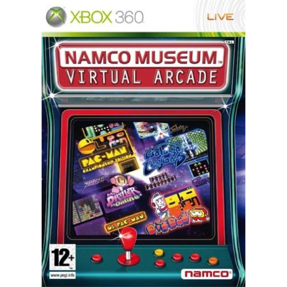 NAMCO MUSEUM VIRTUAL ARCADE XBOX 360 PAL-EURO NEW