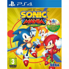 SONIC MANIA PLUS PS4 PAL FR NEW