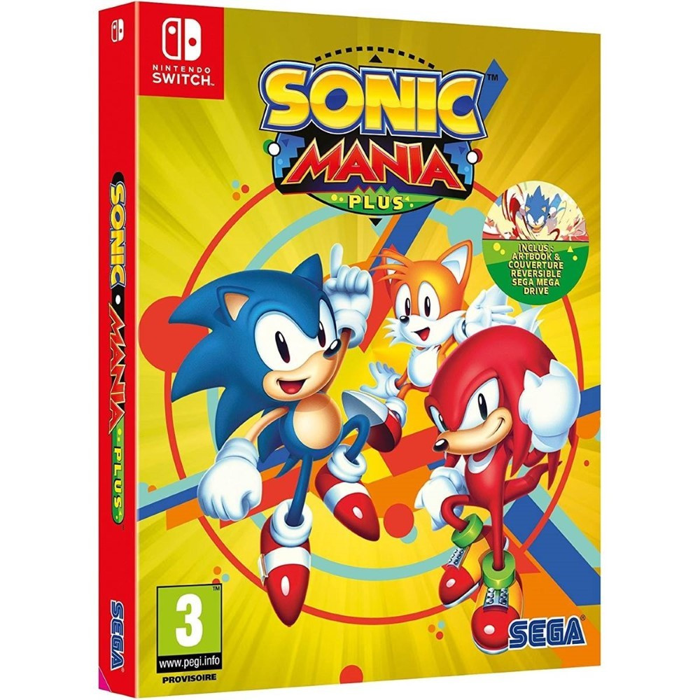 SONIC MANIA PLUS SWITCH PAL FR NEW