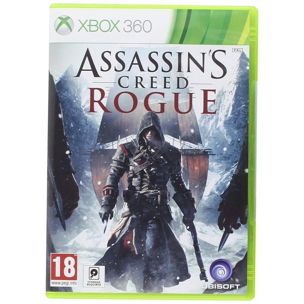 ASSASSIN S CREED ROGUE XBOX 360 PAL-EURO OCCASION