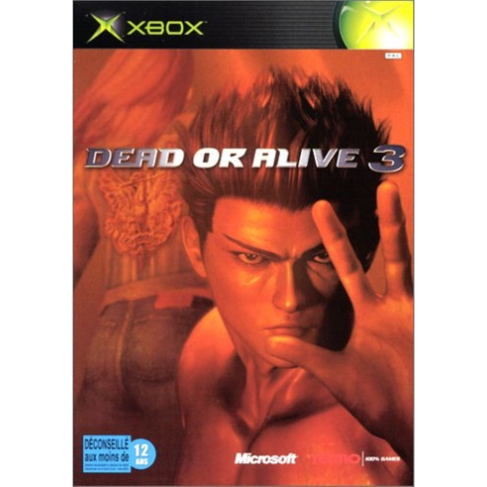 DEAD OR ALIVE 3 XBOX PAL FR OCCASION