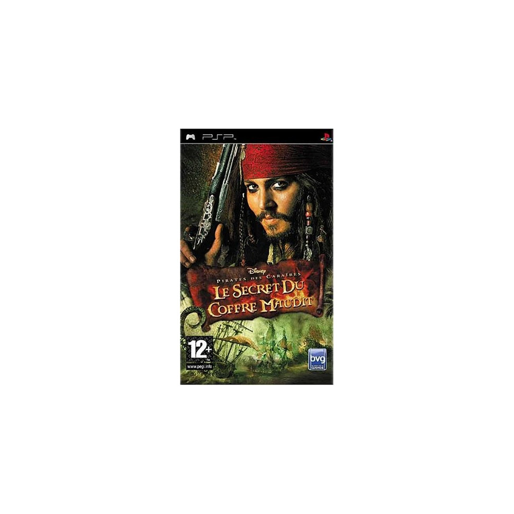 PIRATES DES CARAIBE LE SECRET DU COFFRE MAUDIT EDITION COLLECTOR PSP FR OCCASION