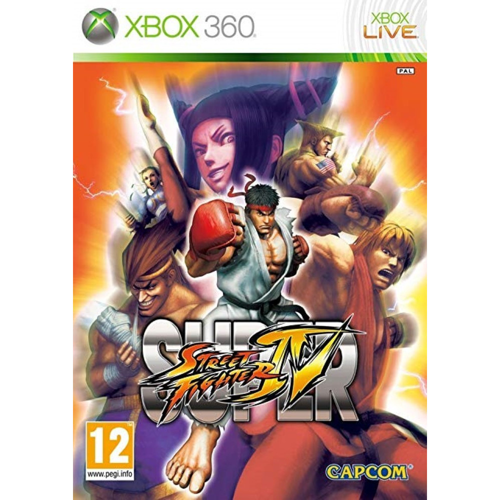 SUPER STREET FIGHTER IV XBOX 360 PAL-FR OCCASION