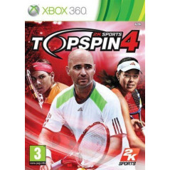 TOP SPIN 4 XBOX 360 PAL-FR OCCASION