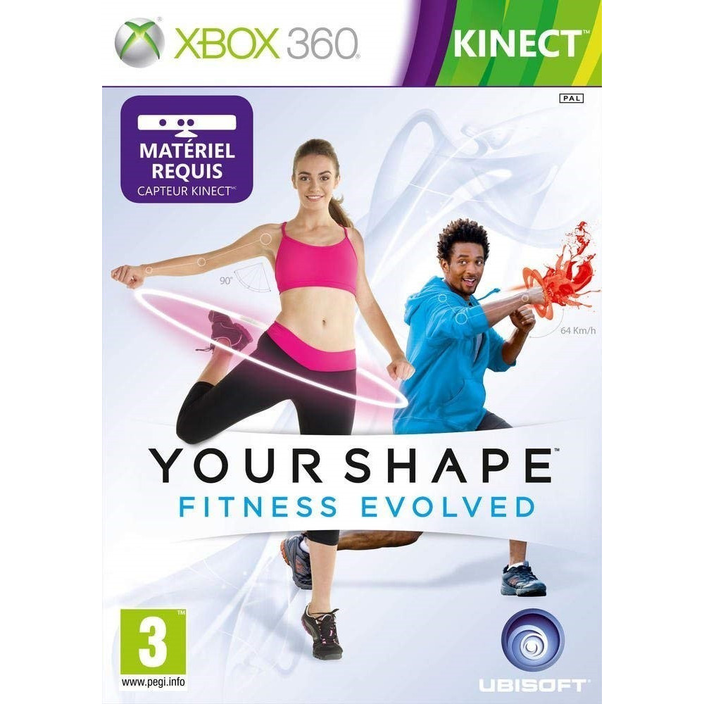 YOUR SHAPE: FITNESS EVOLVED XBOX 360 PAL-FR OCCASION