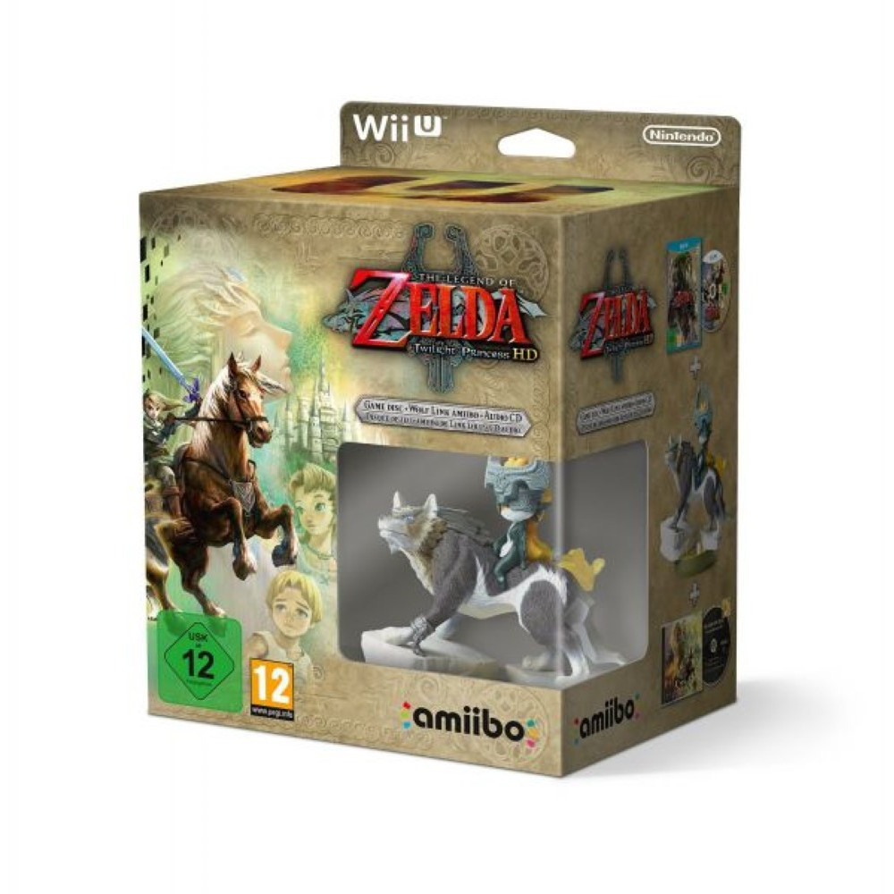 THE LEGEND OF ZELDA TWILIGHT PRINCESS SPECIAL EDITION WIIU PAL-EURO NEW