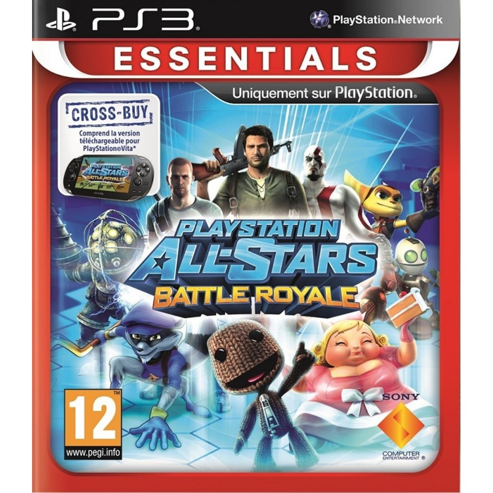 PLAYSTATION ALL-STARS BATTLE ROYALE PS3 FR NEW