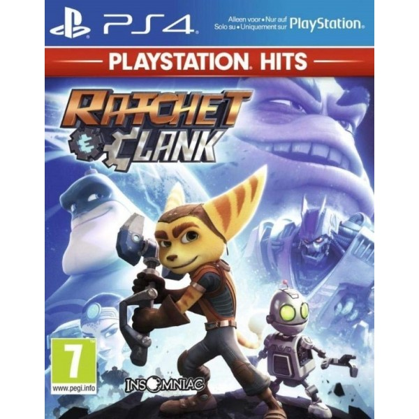 RATCHET & CLANK PLAYSTATION HITS PS4 FR NEW