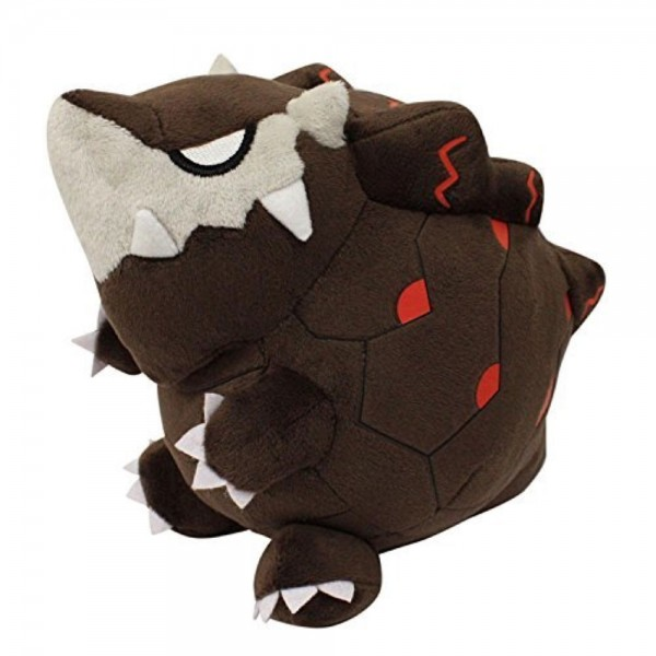 PELUCHE MONSTER HUNTER WORLD ZORAH MAGDAROS JAP NEW