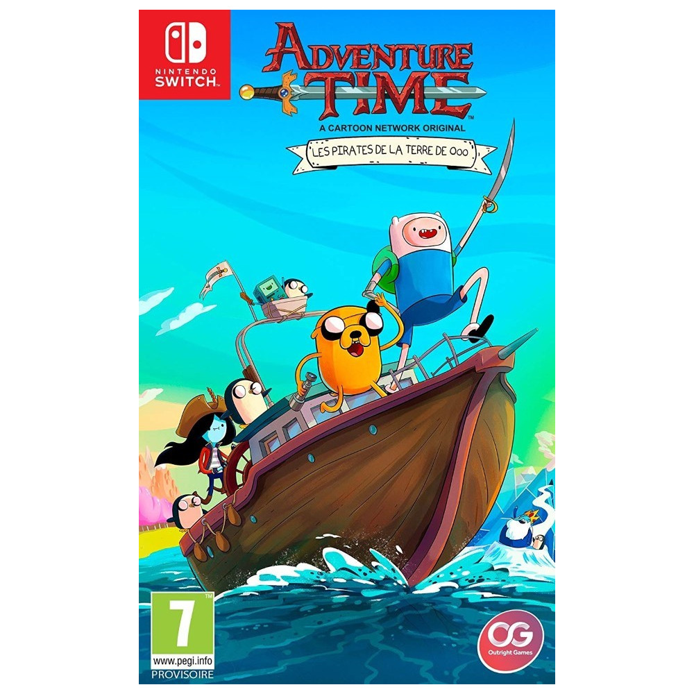 ADVENTURE TIME PIRATES OF THE ENCHIRIDION SWITCH UK NEW