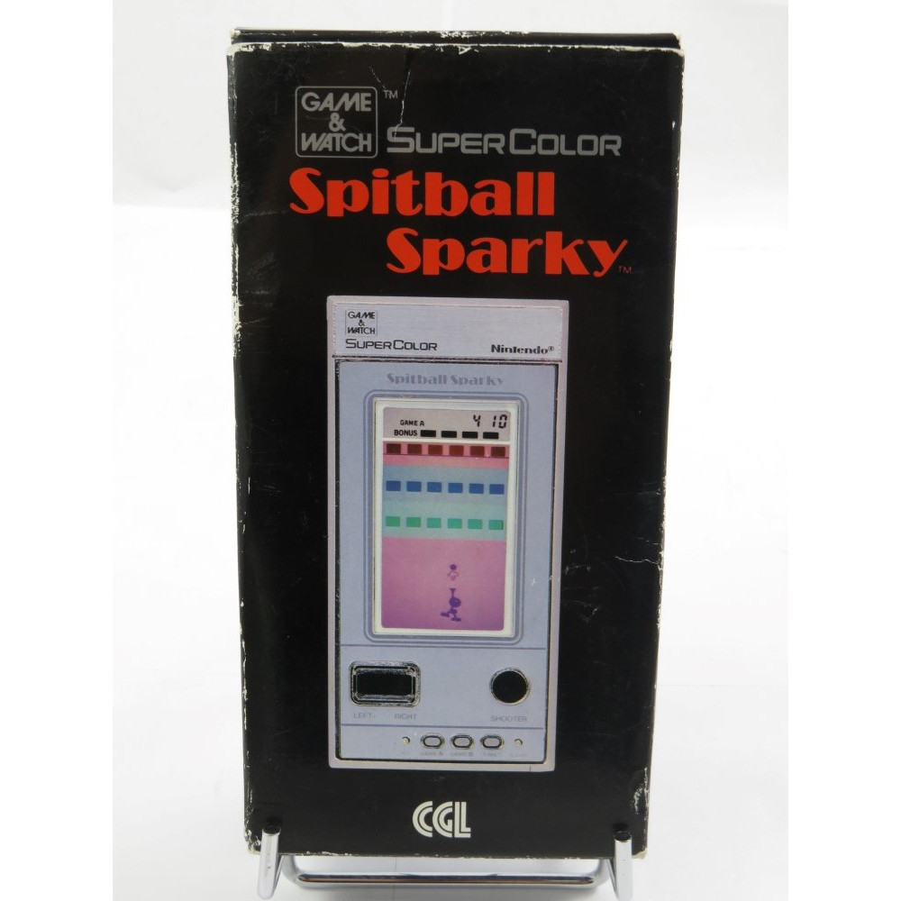 GAME & WATCH SUPER COLOR SPITBALL SPARKY UK NEW