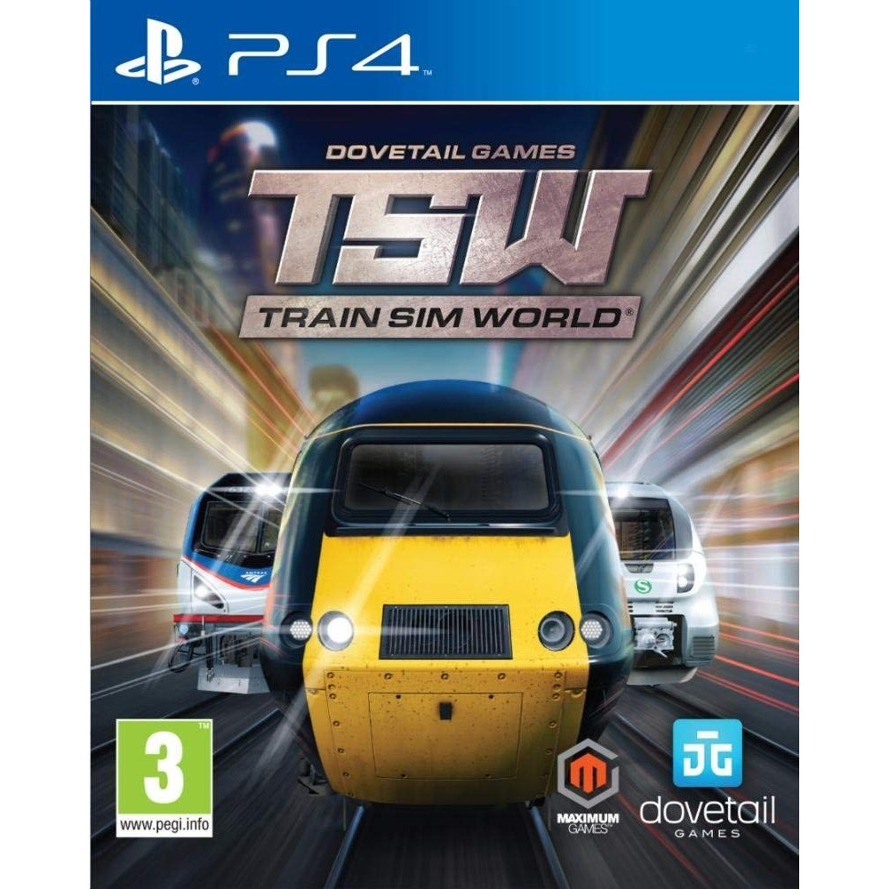 TRAIN SIM WORLD PS4 FR NEW