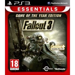 FALLOUT 3 ESSENTIALS GOTY PS3 FR NEW