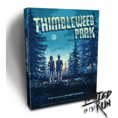 THIMBLEWEED PARK COLLECTOR PS4 US NEW