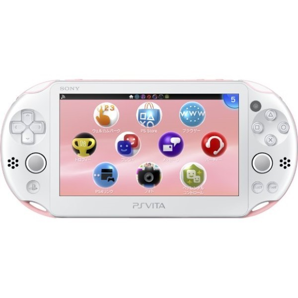 CONSOLE PS VITA WIFI SLIM PINK WHITE JAP OCCASION