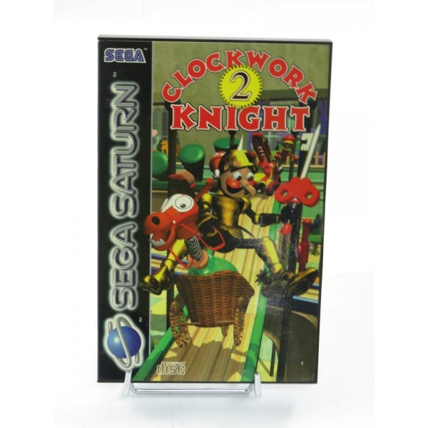 CLOCKWORK KNIGHT 2 SATURN PAL-EURO (VERY GOOD CONDITION OVERALL)