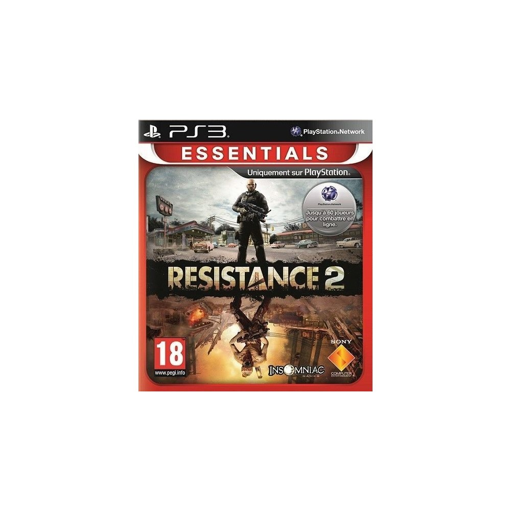 RESISTANCE 2 ESSENTIAL PS3 FR NEW