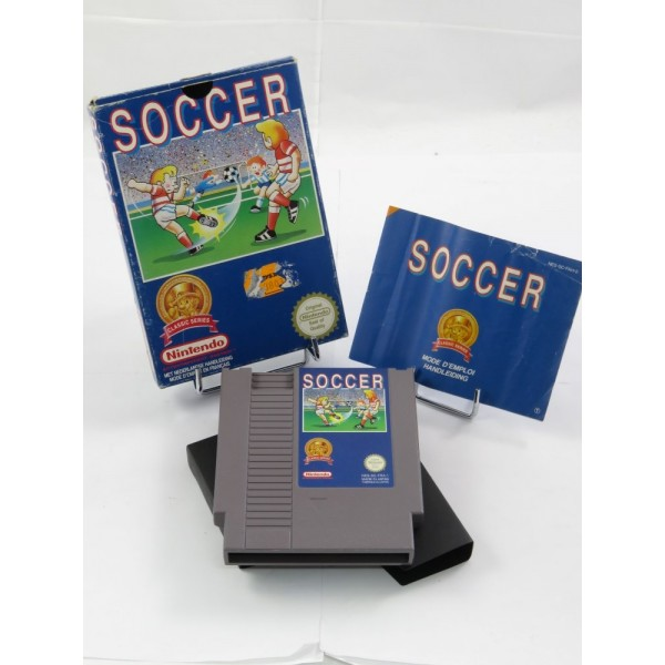 SOCCER CLASSIC SERIES NES PAL-B (FAH) (COMPLETE - GOOD CONDITION OVERALL)