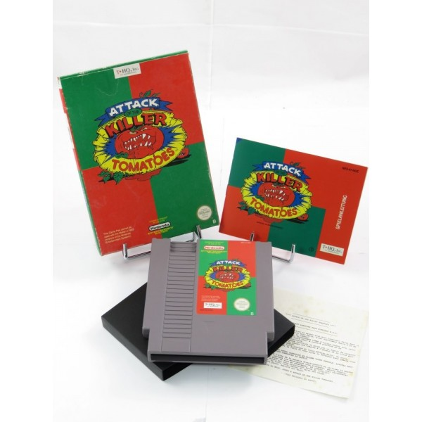 ATTACK OF THE KILLER TOMATOES NES PAL B NOE IMPORT FR OCCASION