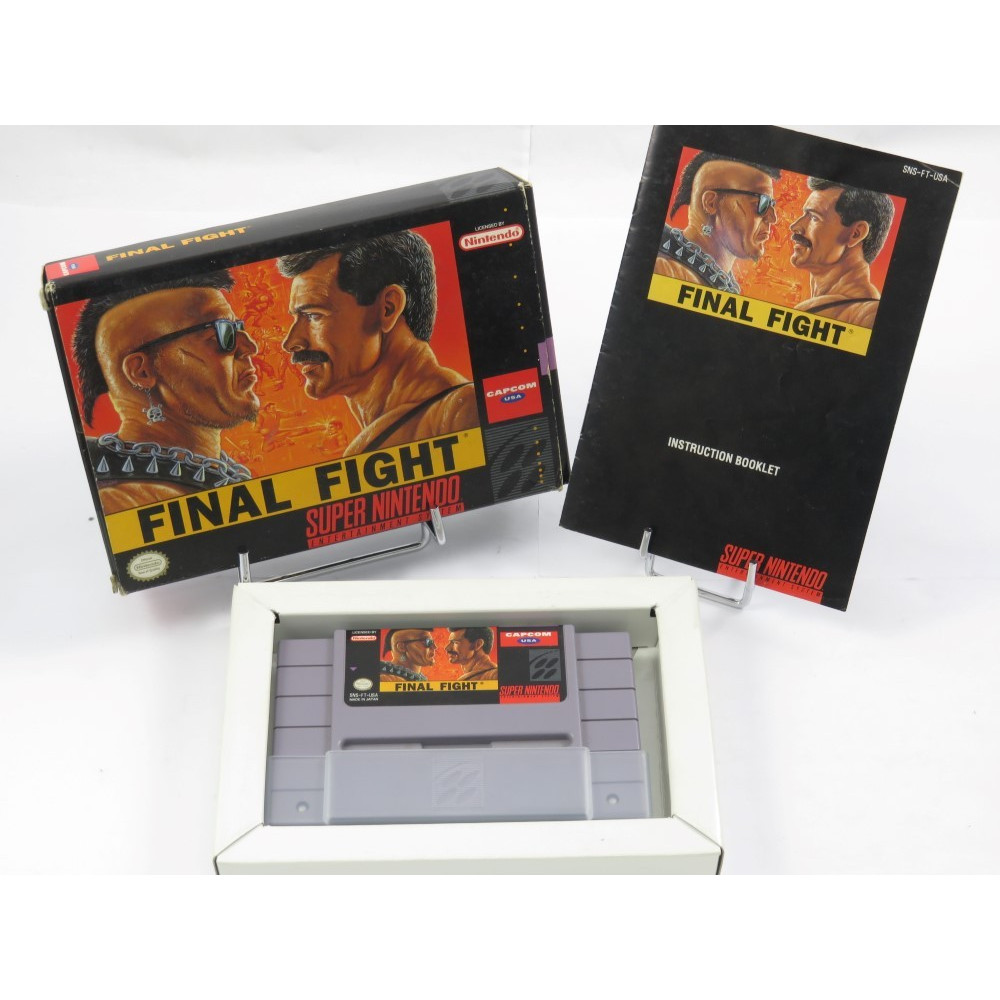 FINAL FIGHT SNES NTSC-USA OCCASION