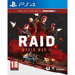 RAID WORLD WAR II PS4 FR OCCASION