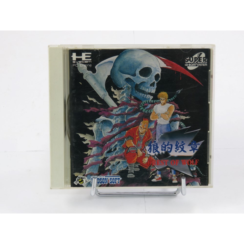 CREST OF WOLF SUPER CD-ROM2 NTSC-JPN OCCASION