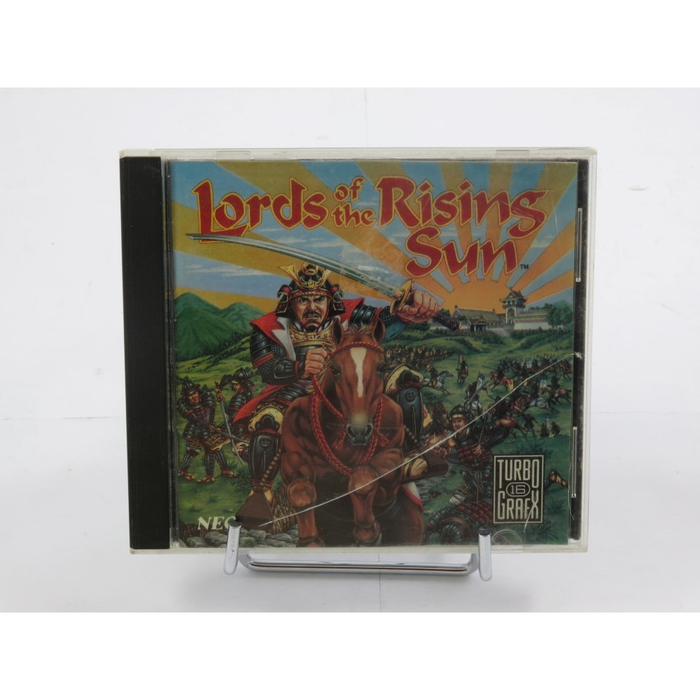 LORDS OF THE RISING SUN TURBO GRAFX CD USA OCCASION