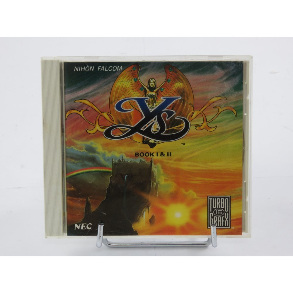 YS BOOK 1 & 2 NEC TURBO GRAFX USA OCCASION
