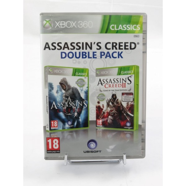 ASSASSIN S CREED DOUBLE PACK XBOX PAL-FR OCCASION