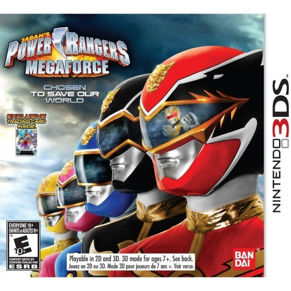 POWER RANGERS MEGAFORCE 3DS US OCCASION