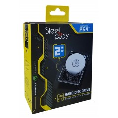 DISQUE DUR 2TB + KIT MONTAGE STEELPLAY PS4 EURO NEW