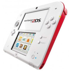 CONSOLE 2DS BLANC ROUGE PAL OCCASION