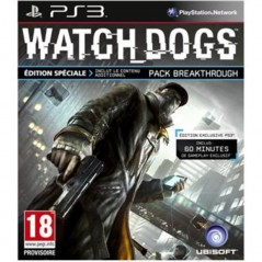WATCH DOGS EDITION SPECIALE PS3 FR NEW