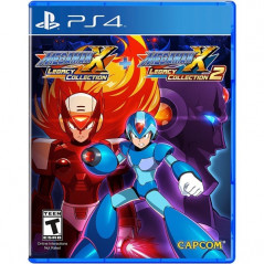 MEGA MAN X LEGACY COLLECTION 1+2 PS4 US NEW