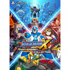 ROCKMAN X ANNIVERSARY COLLECTION PS4 JPN NEW