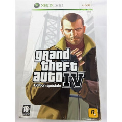 GRAND THEFT AUTO IV - GTA IV EDITION SPECIALE XBOX 360 PAL-FR OCCASION