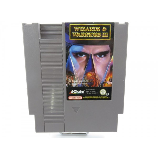 WIZARDS & WARRIORS III NES PAL-B FAH LOOSE