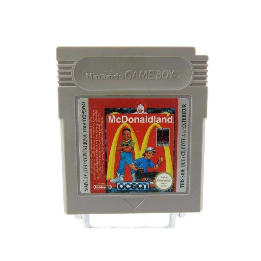 MC DONALDLAND GAMEBOY FAH LOOSE (ETAT B)