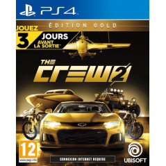 THE CREW 2 EDITION GOLD PS4 FR OCCASION