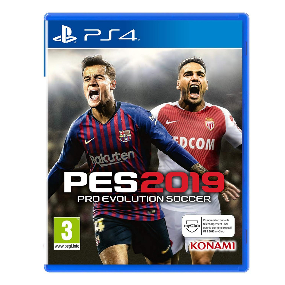 Buy PRO EVOLUTION SOCCER 2019 PS4 FR NEW - Game 85311 ... c84a26f561d17